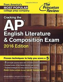 Cracking the AP English Literature & Composition