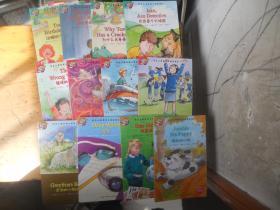 培生儿童英语分级阅读 第10--12 【共12册全】没有CD