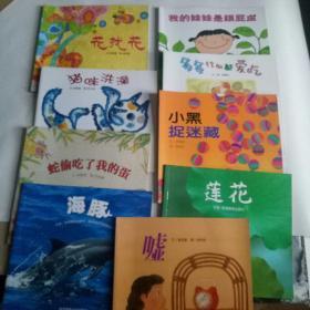 幼儿园早期阅读课程 幸福的种子小班(普及版) 9本图画书【具体书名见描述栏】
