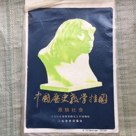 中国历史教学挂图——原始社会   5张全