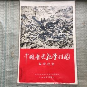 中国历史教学挂图:奴隶社会   6幅全