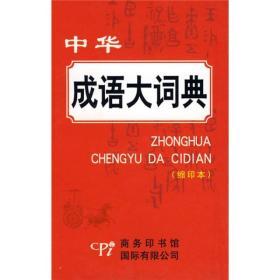 中华成语大词典(缩印本)