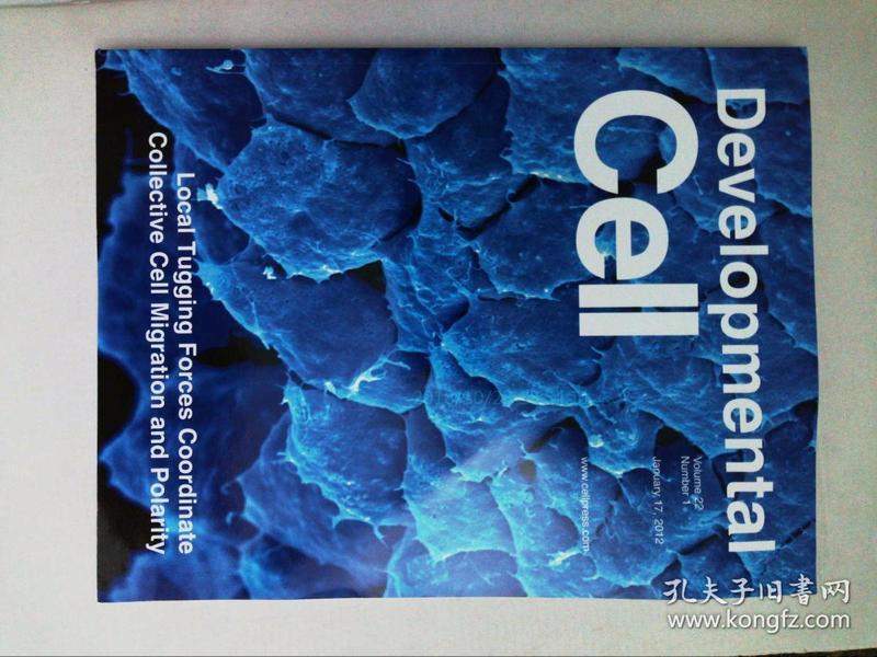 Developmental Cell 2012/01/17细胞发育生物学原版外文学术期刊