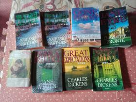 8本英文书合售【红字有个中文版】