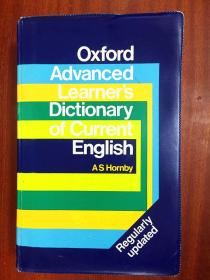 英国进口原装  软精装 Oxford Advanced Learner`s Dictionary of Current English牛津现代高级英语词典(第三版)