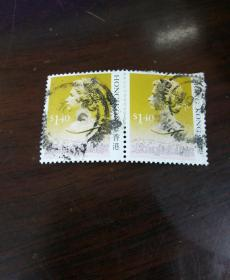 邮票——香港$140(两张合售)
