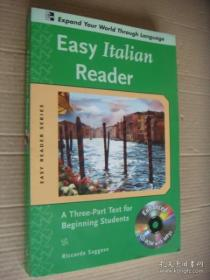 Easy Italian Reader:a three-part text for beginning students 英语原版: 意大利语学习
