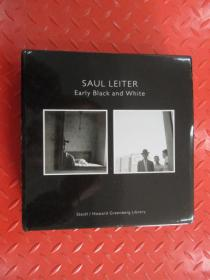 SAUL  LEITER  Early   Black  and  White  【1、  Iinterior  2 、  Exterior】 共2本合售  硬精装   带盒