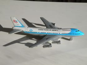 早期 美国航空公司飞机模型玩具