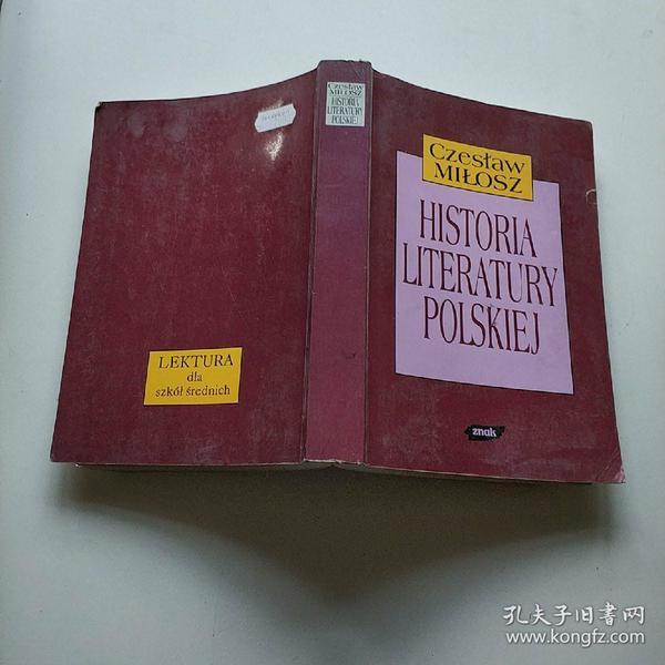 Czestaw MILOSZ HISTORIA LITERATURY POLSKIEJ