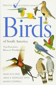 Birds of South America 南美洲观鸟手册