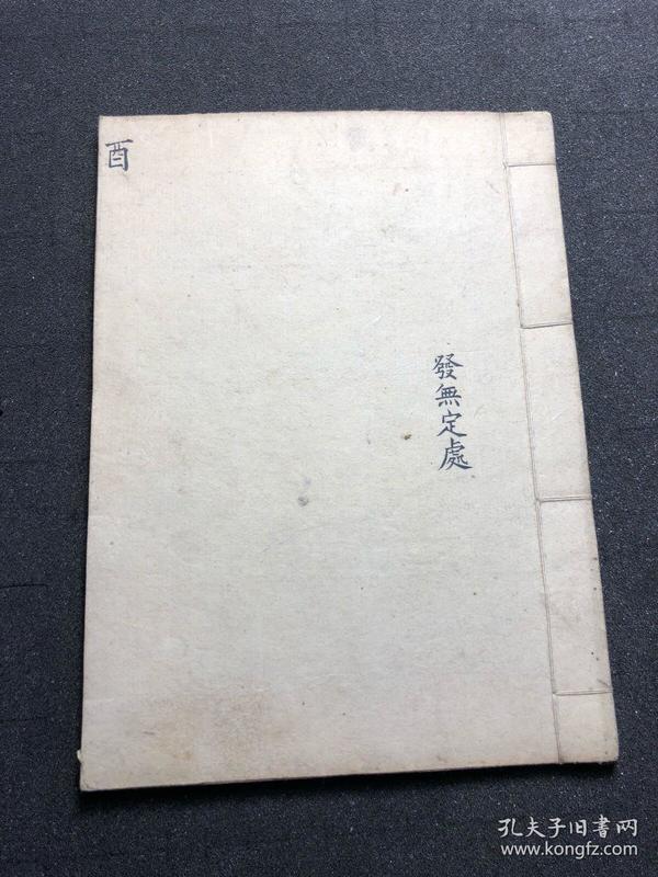 清代 中医古籍 手写手绘 字写的好看