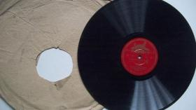 年代不详出版-25CM-78转黑胶密纹-第一届戏曲观摩演出大会节目评剧《小女婿》唱片