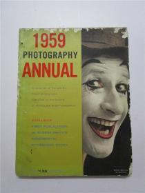 1959年 PHOTOGRAPHY ANNUAL (1959年摄影年鉴) 大16开英文原版