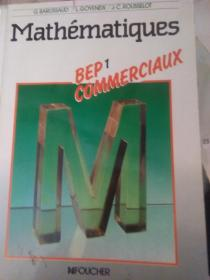 Mathématiques BEP1 COMMERCIAUX(详见图)