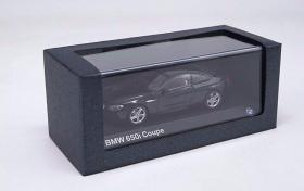 1:43德国原厂宝马BMW650iCoupe6系跑车合金汽车收藏(硬顶黑色)