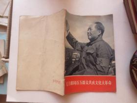 毛主席同百万群众共庆文化大革命(有毛林合影)