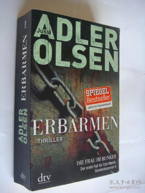 ERBARMEN 德文原版 32开