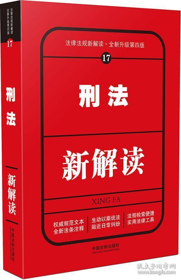刑法新解读(第四版)