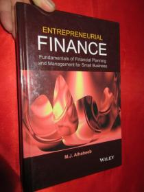Entrepreneurial Finance: Fundamentals of...  (硬精装)      【详见图】