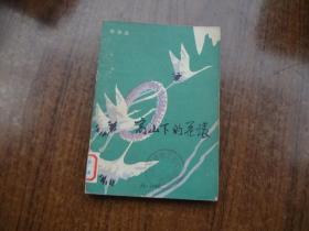 高山下的花环   馆藏9品自然旧  山东版   82年一版一印
