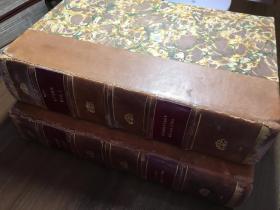 【孤本】1911-1913年《利瑪竇神父歷史著作集》Opere storiche del P. Matteo Ricci S.I./汾屠立神父(Pietro Tacchi Venturi)編著/兩卷全