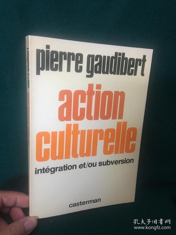 Action Culturelle:integration et/ou suversion【文化行动:整合和/或颠覆】
