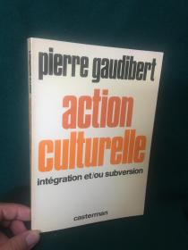 Action Culturelle:integration et/ou suversion【文化行动:整合和/或颠覆】