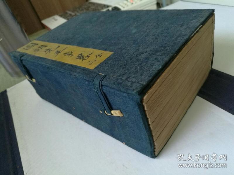 (美品)清光绪二十五年上海图书集成印书局白纸排印本《国朝先正事略》六十卷,八册全   《续先正事略》八卷,四册全   一函十二册全