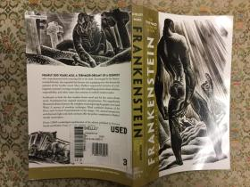 Frankenstein: The Lynd Ward Illustrated Edition弗兰肯斯坦,2009Lynd Ward优雅木刻插图版,九品