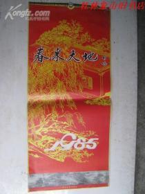 1985年挂历--春来天地(75cm*35cm13张全) /不详