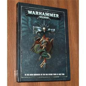 WARHAMMER 40000 战锤40k 规则手册第8版 英文原版游戏设定