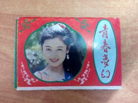 青春梦幻 明信片  存九张