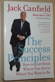 英文原版书 The Success Principles: How to Get from Where You Are to Where You Want to Be – Paperback 2006