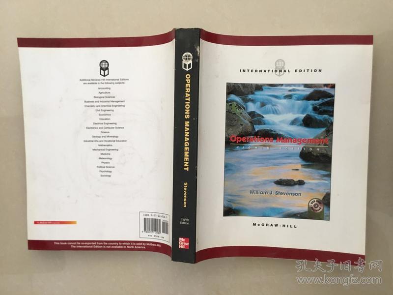 OPERATIONS MANAGEMENT eighth edition【运营管理第八版】无光盘
