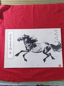 榮寶齋畫譜40(徐悲鴻繪花鳥動物部分)
