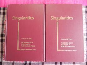 Singularities (Proceedings of Symposia in Pure Mathematics1-2合售  精装原版