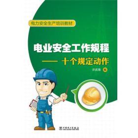 電力安全生產培訓教材 電業安全工作規程—十個規定動作