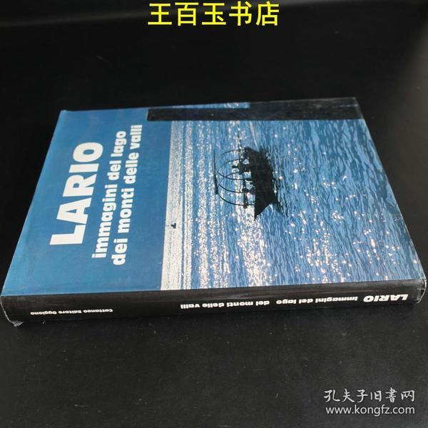 LAR10 immagini del lago dei monti delle valli(16开精装               )