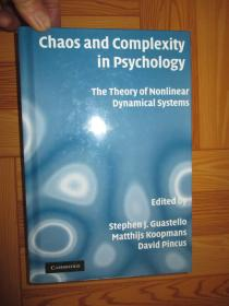 Chaos and Complexity in Psychology: The Theory of....     (小16开,硬精装)