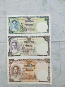 泰国三连体纪念钞 泰国3连体钞
