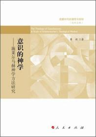 意识的神学:施莱尔马赫神学方法研究