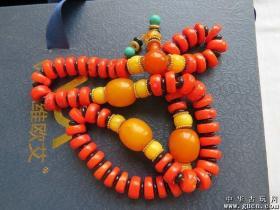 清代老红珊瑚项链2