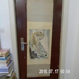 杨秋生作品《虎》