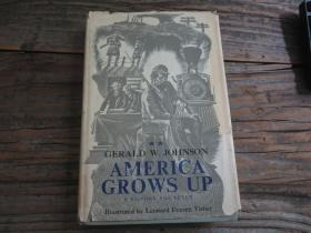 <America Grows Up>   馆藏书