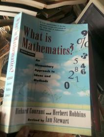 英文原版---What Is Mathematics? An Elementary Approach To Ideas And Methods