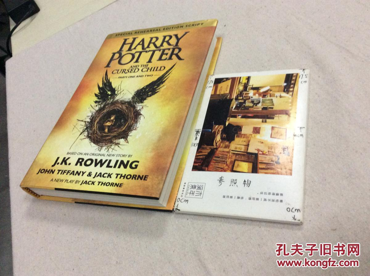 Harry Potter and the Cursed Child  ( Parts one and Part two)  英文原版【存于溪木素年书店】