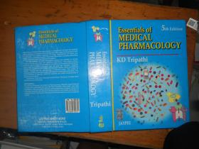 Essentials of MEDICAL PHARMACOLOGY 【(精装本) 医学药理学】