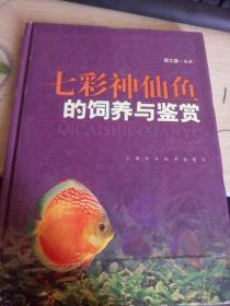 七彩神仙鱼的饲养与鉴赏(16开精装画册)品好如图