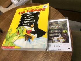 Scholastic success with 1st Grade workbook  1年级 作业簿 (数学、阅读、写作、语法、地图) (答案在后页) 英文原版 英文教材【存于溪木素年书店】